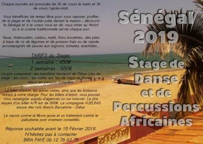 stage senegal 2019